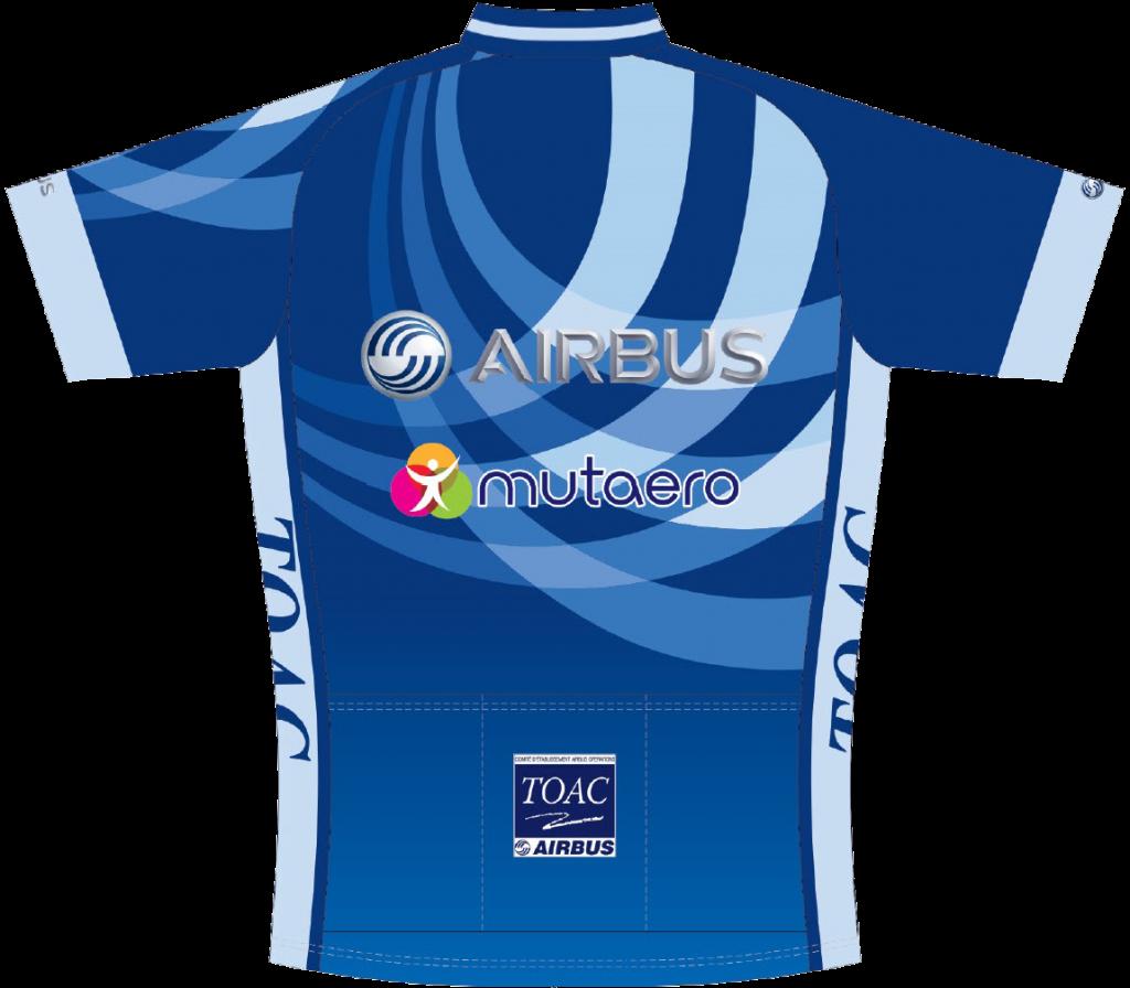 Nouveau maillot du TOAC Cyclisme