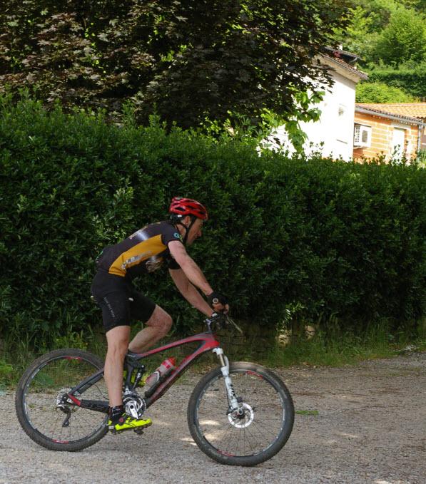 Christophe Coustillères, prend une belle 5ème place au scratch et 1er Tarn et Garonnais!