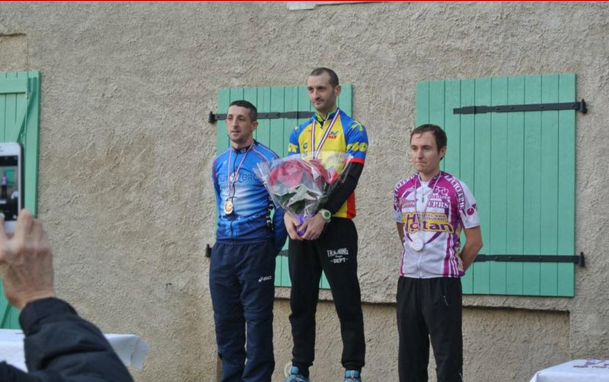 Podium séniors, bravo Nico pour cette 2e place!