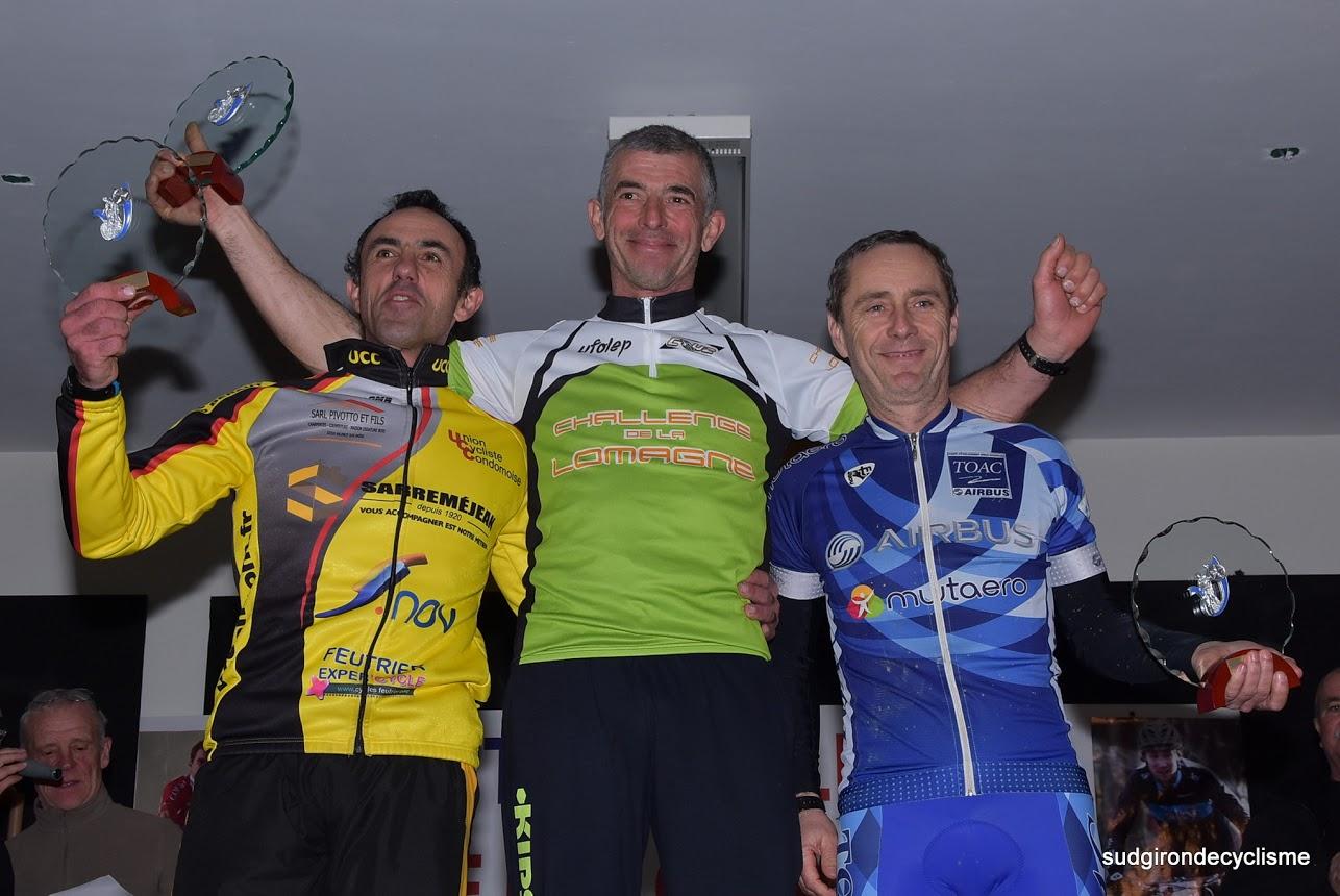 Félicitation à notre Pat qui réussi à rester sur le podium sur le challenge!