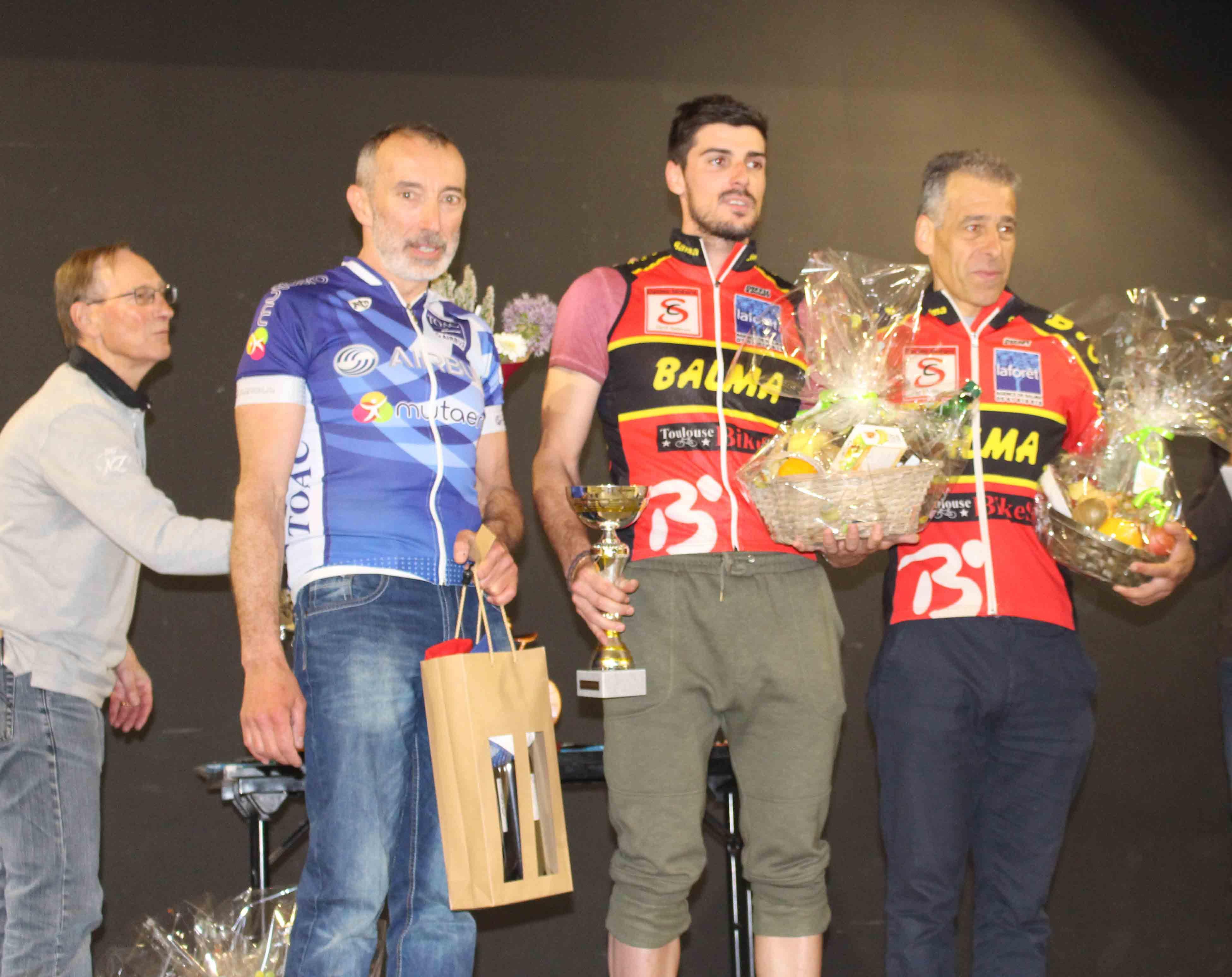 Belle 3e place pour Alain Laffargue très en forme en ce début de saison!