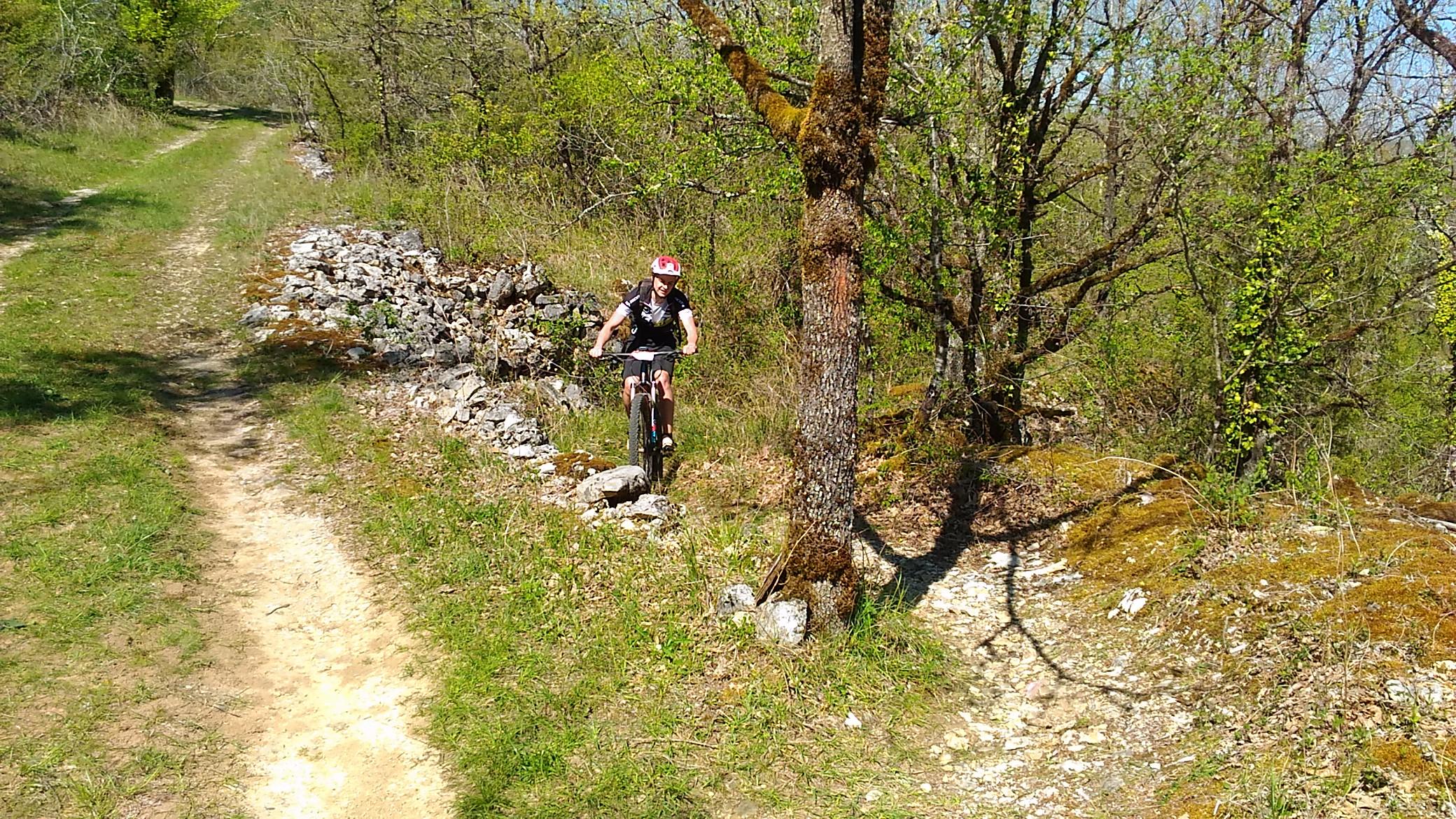 Olivier de Villefranche de Rouergue avec qui j'ai effectué quelques kilomètres!