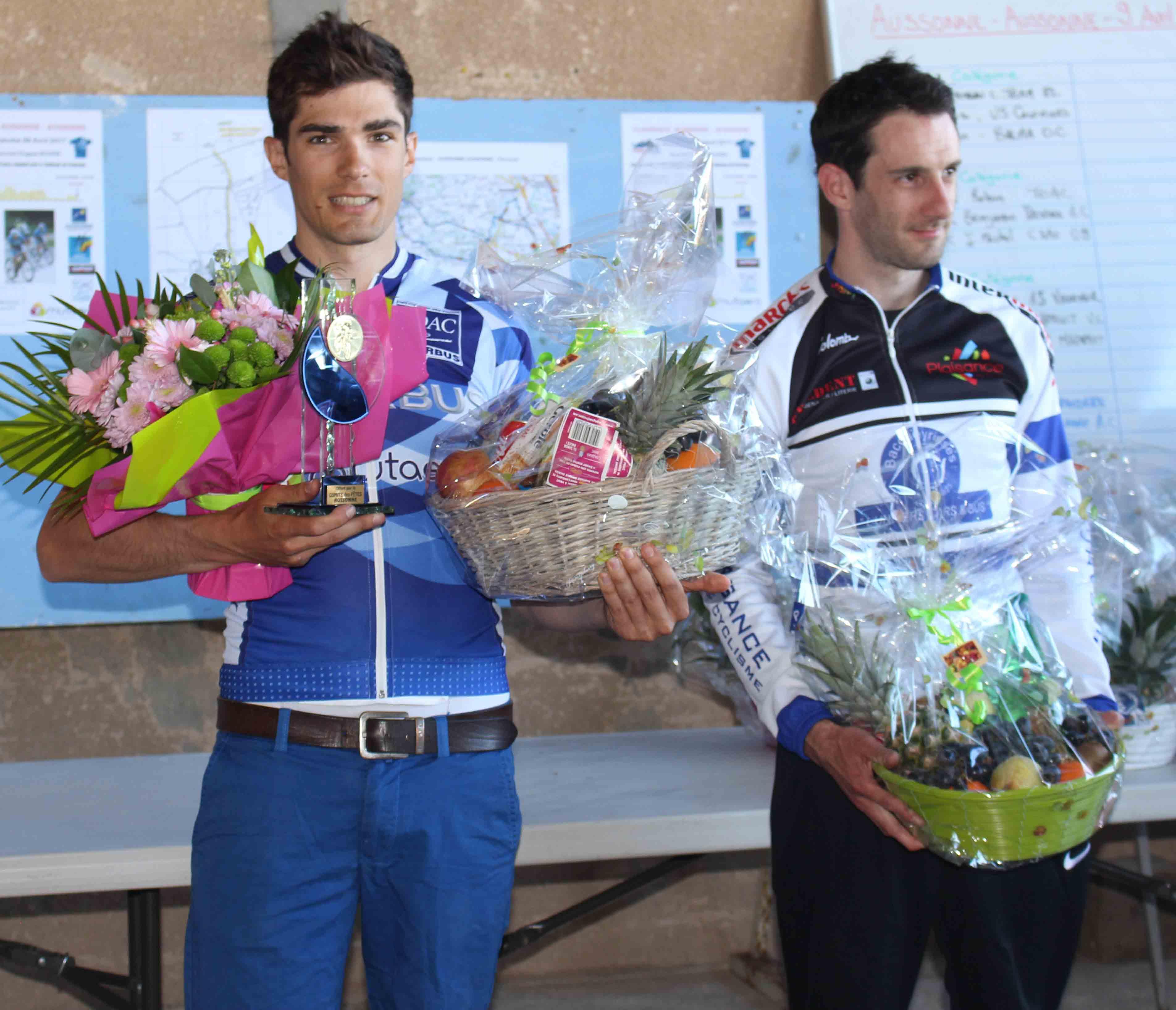 Christophe Robin vainqueur en 2e catégorie, félicitations!
