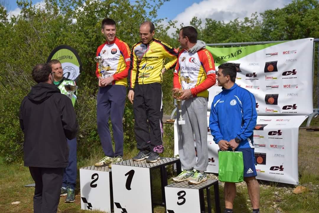 Sébastien prend la 3e place chez le 30-39 ans!