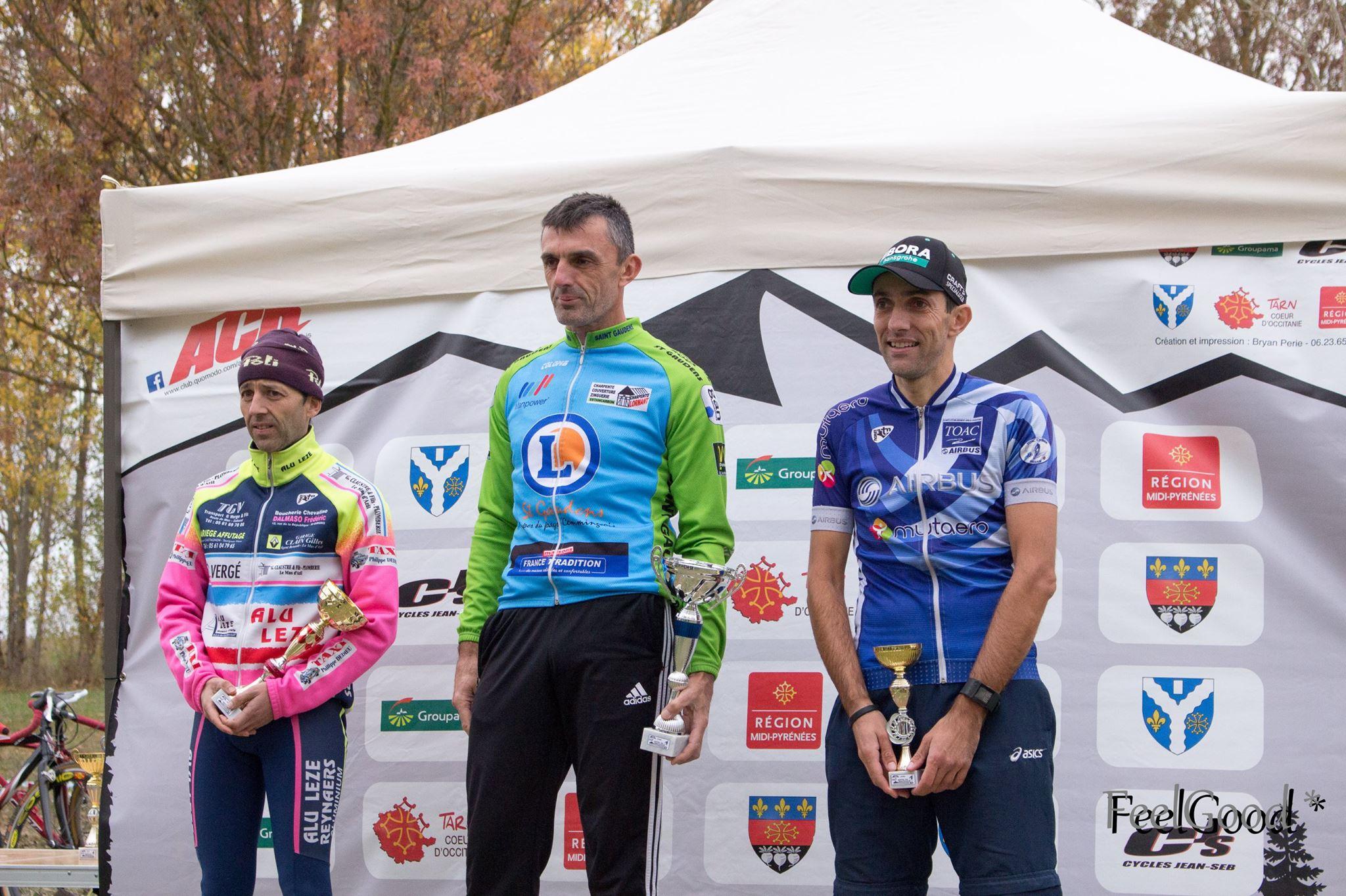 3e place de Christophe dernière Michel Bonzom et Jérôme Dandine!
