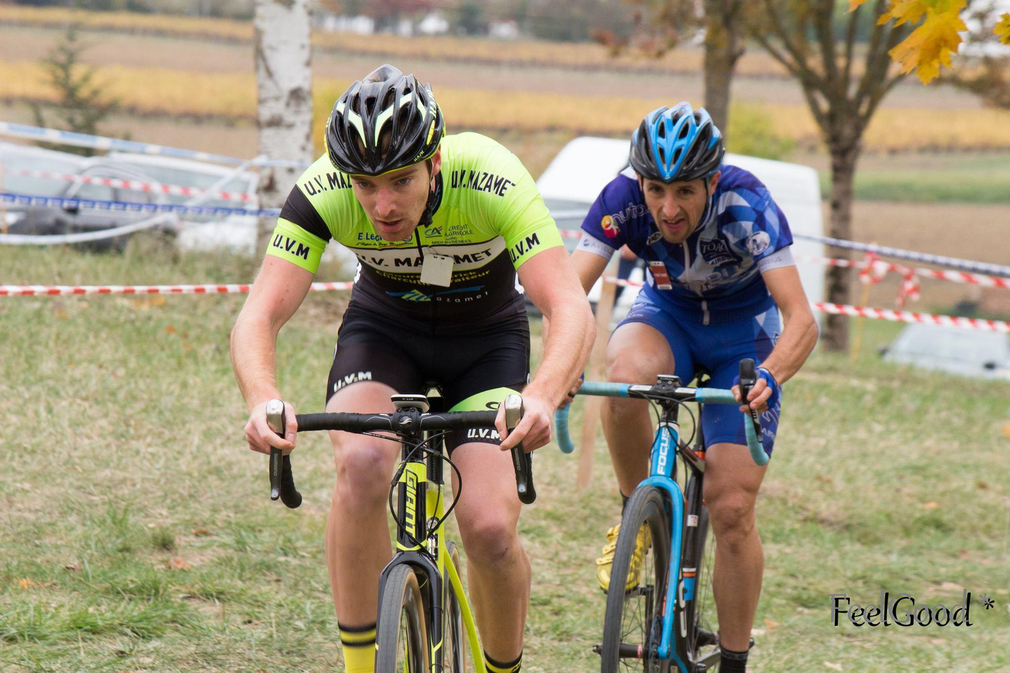 Nico Nardo dans la roue d'un concurrent de Mazamet!