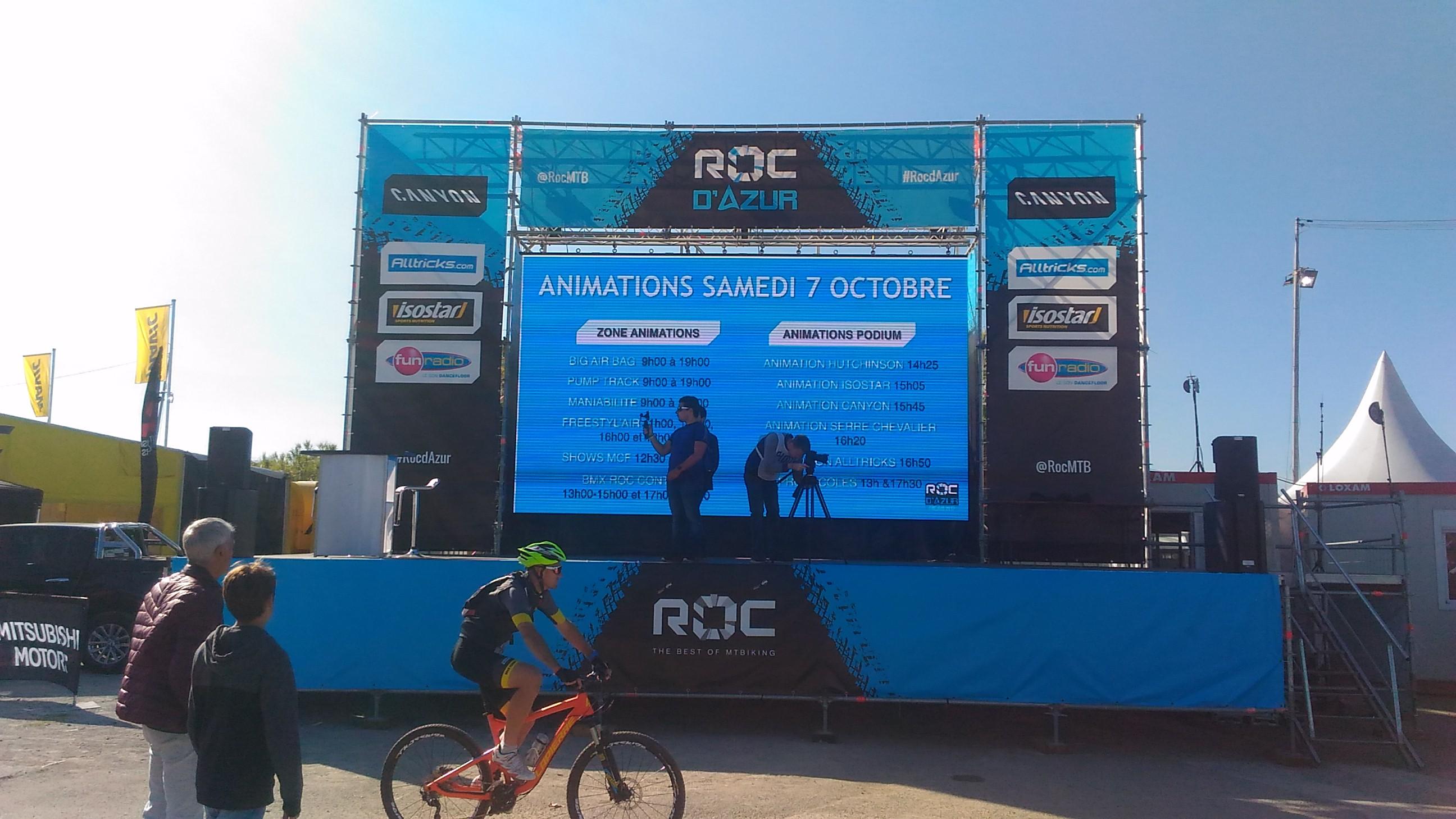Le Roc d'Azur c'est aussi beaucoup d'animation, impossible de s'ennuyer!