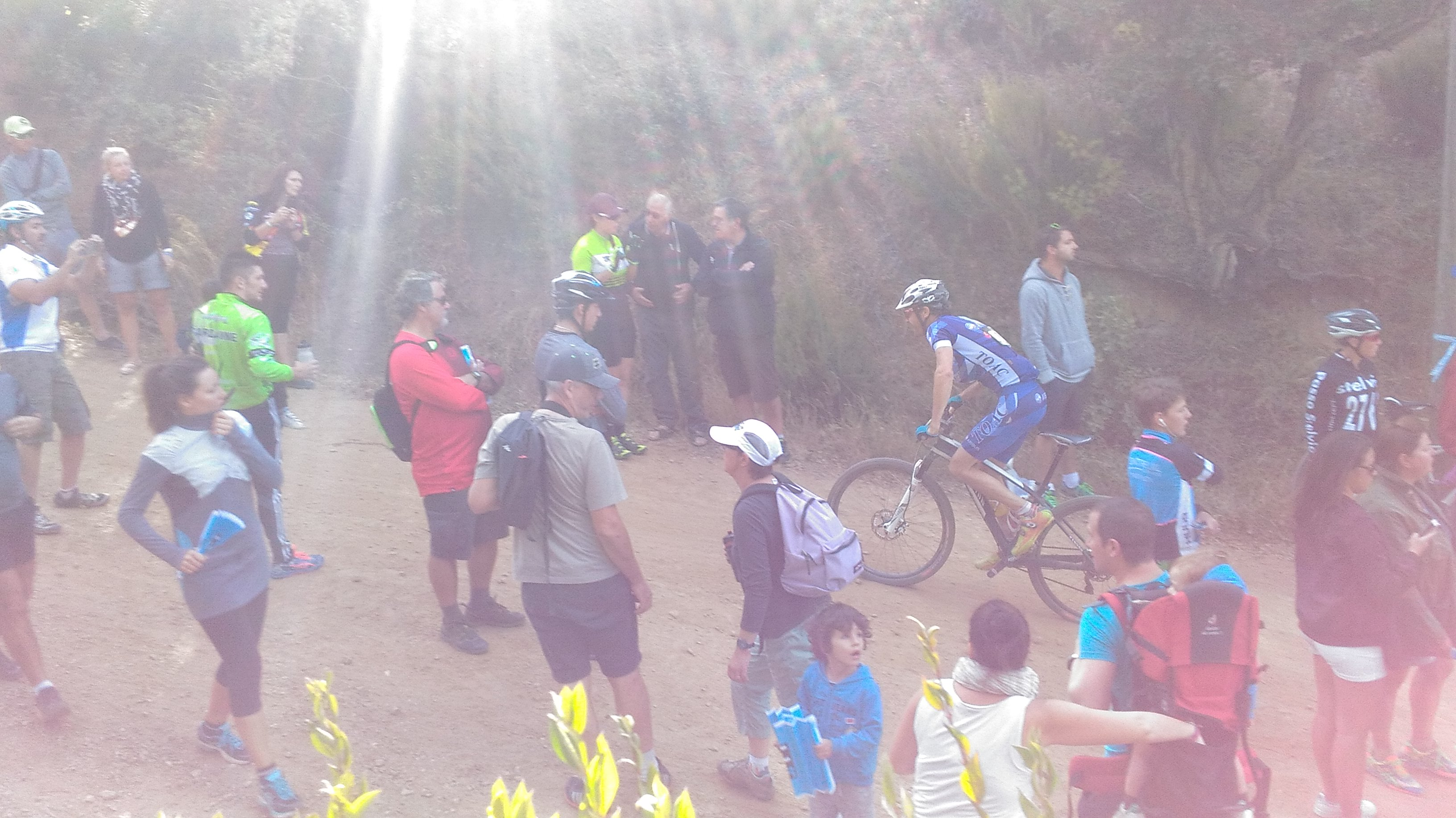 Christophe Faloppa à la relance dans le Col du Bougnon!