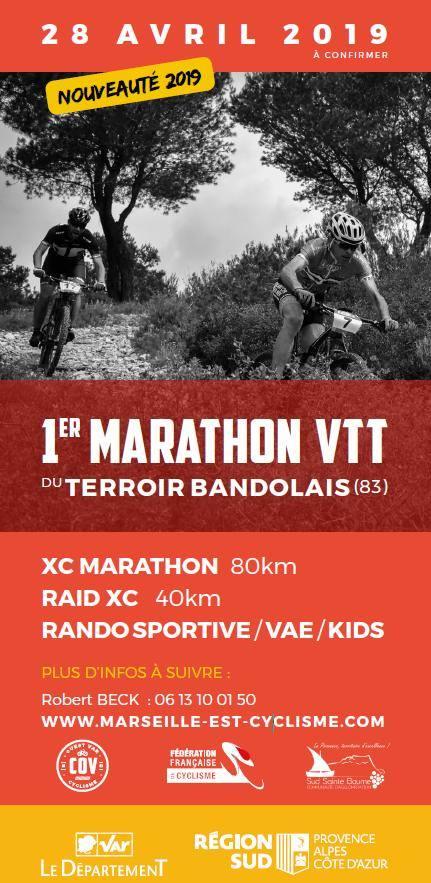 1er Marathon VTT du Terroir Bandolais