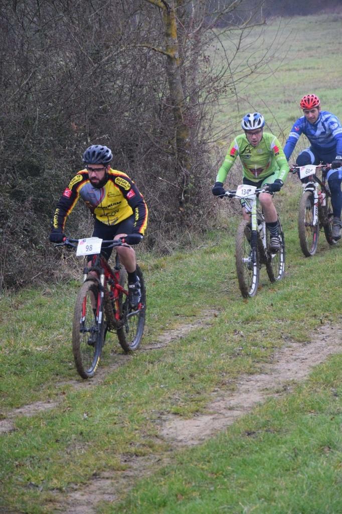 Seb dans la roue du maillot vert, ça sent le sprint :-)