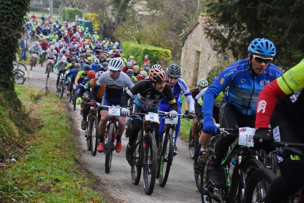 Challenge de la Lomagne VTT 2019 Mauvezin ... début de course 016