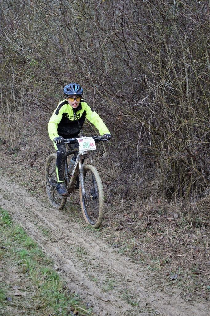 Yohan Marcano continue son apprentissage dans la boue gersoise!