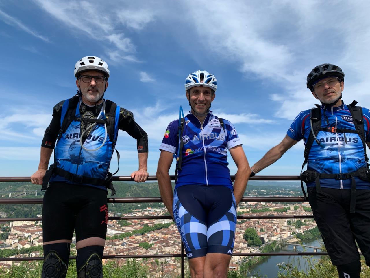 Seb, Christophe B et V.