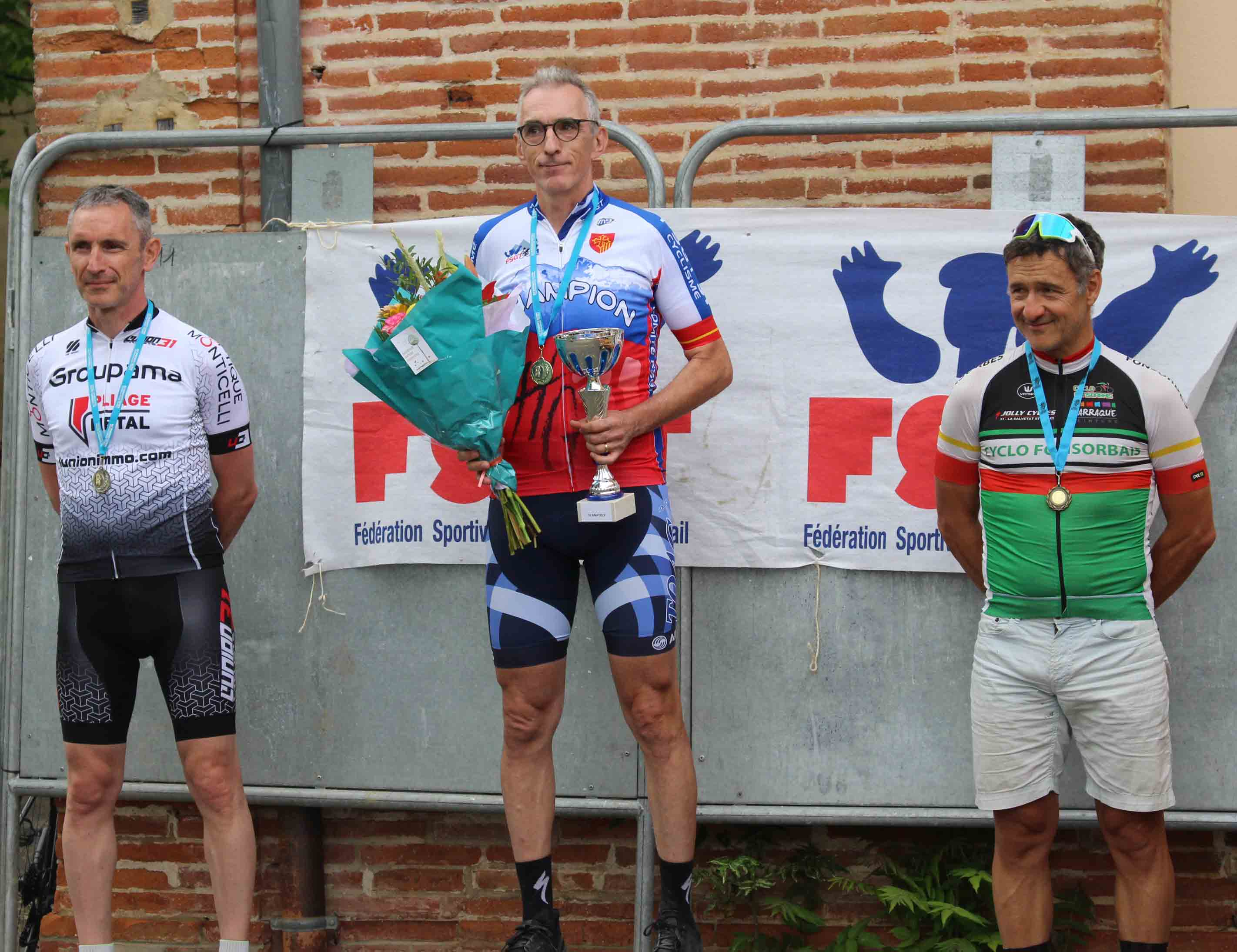 Pierre champion en super vétéran!
